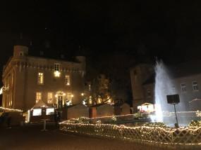 romantischer Weihnachtsmarkt schloss loersfeld