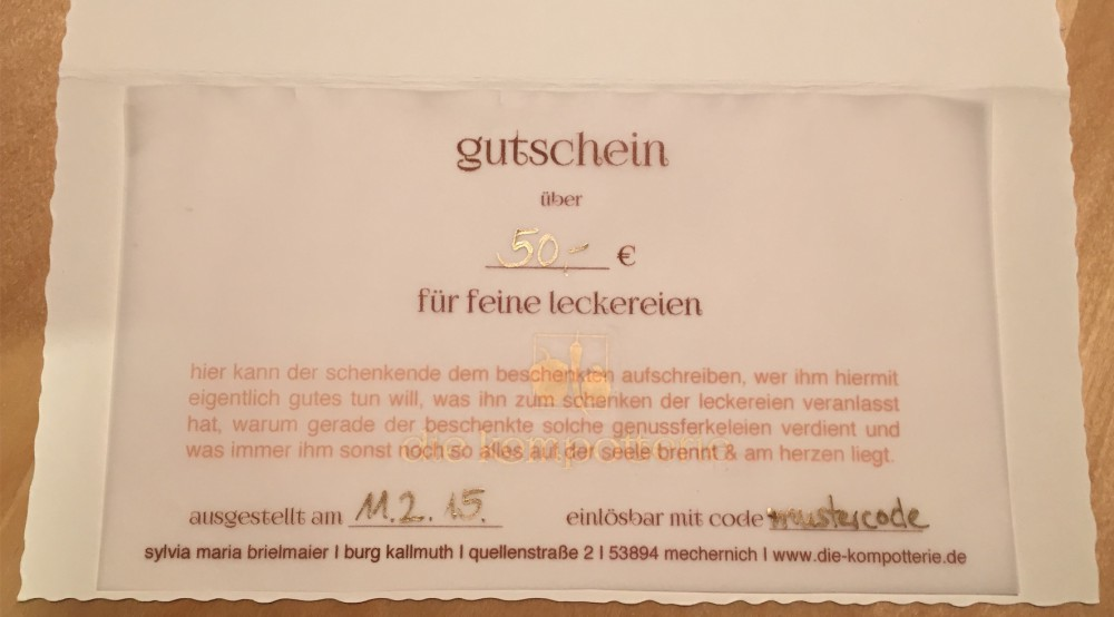 e-gutschein (pdf per email)
